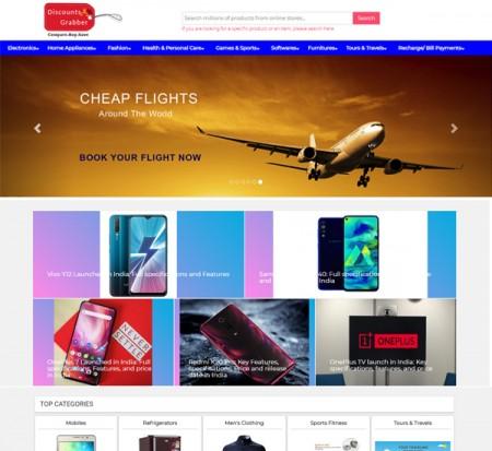Discountsgrabber online comparison shopping