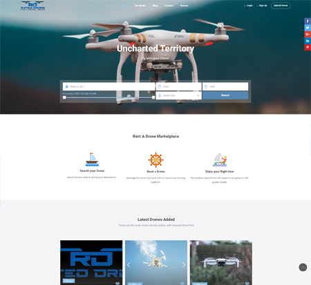 Rated Drone, find a rental drone