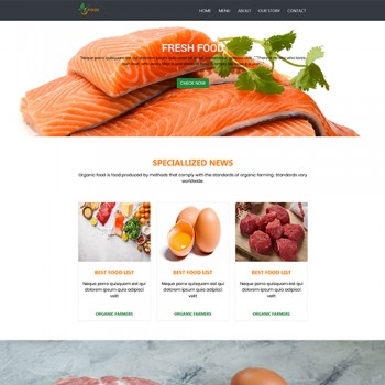 Online shopping of meat egg fish